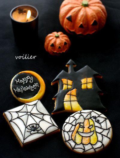 【更新】10月レッスン ステンドグラスでハロウィン voilier(ヴォワリエ)九州 福岡市 アイシングクッキー、フラワーケーキ、カップケーキ教室