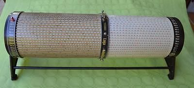 Very rare Swiss LOGA Rechenwalze Cylindrical slide rule 15 M length equiv.