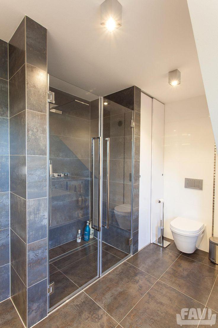 Moderní koupelny inspirace - Komplexní realizace interiéru RD | Favi.cz