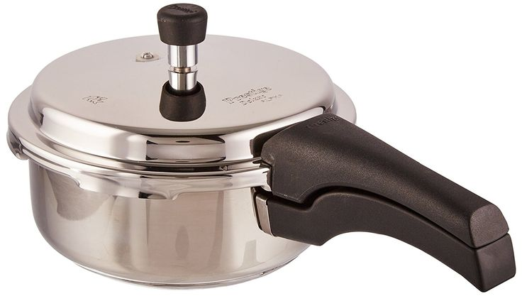 Prestige Deluxe Alpha Outer Lid Stainless Steel Pressure Cooker, 3 Litres - Best Home and Kitchen Store