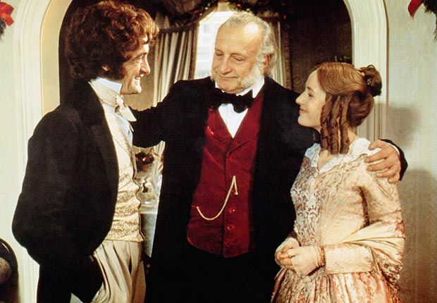 A Christmas Carol..we watch this version every year..the best one.