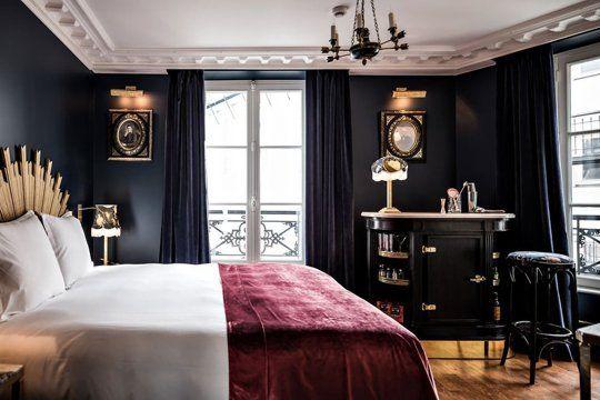 Фото из статьи: 4 парижские спальни, которые вдохновят вас на ремонт своей