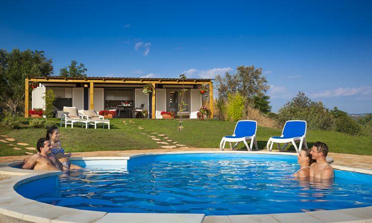 Bella Vista homes, Camping Sirena #Sirena #Novigrad #Istria #Croatia