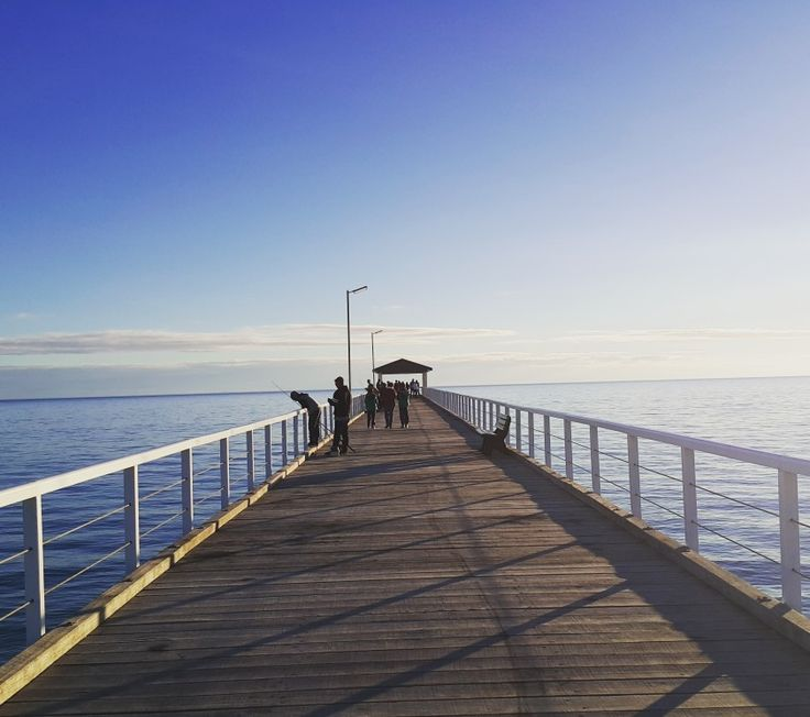 GRANGE JETTY, GRANGE BEACH, ADELAIDE SOUTH AUSTRALIA - Loulou #adelaide #jetty #southaustralia #sunset #beach