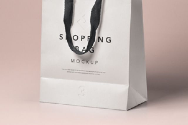 Download This Is A High Quality Perspective Psd Shopping Bag Mockup To Let You Showcase Your Branding Designs You Can C Bag Mockup Graphic Design Templates Free Design