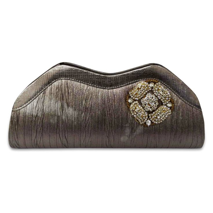 Beautiful faux leather fabric woman clutch purse /handbag. ..this is img