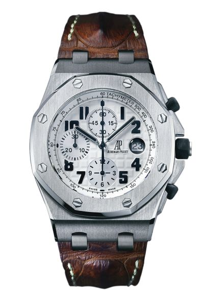 #AudemarsPiguet Royal Oak Offshore Chronograph Safari Stainless Steel #Watch