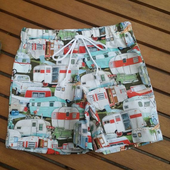 Check out this item in my Etsy shop https://www.etsy.com/listing/217840136/size-1-caravan-print-shorts