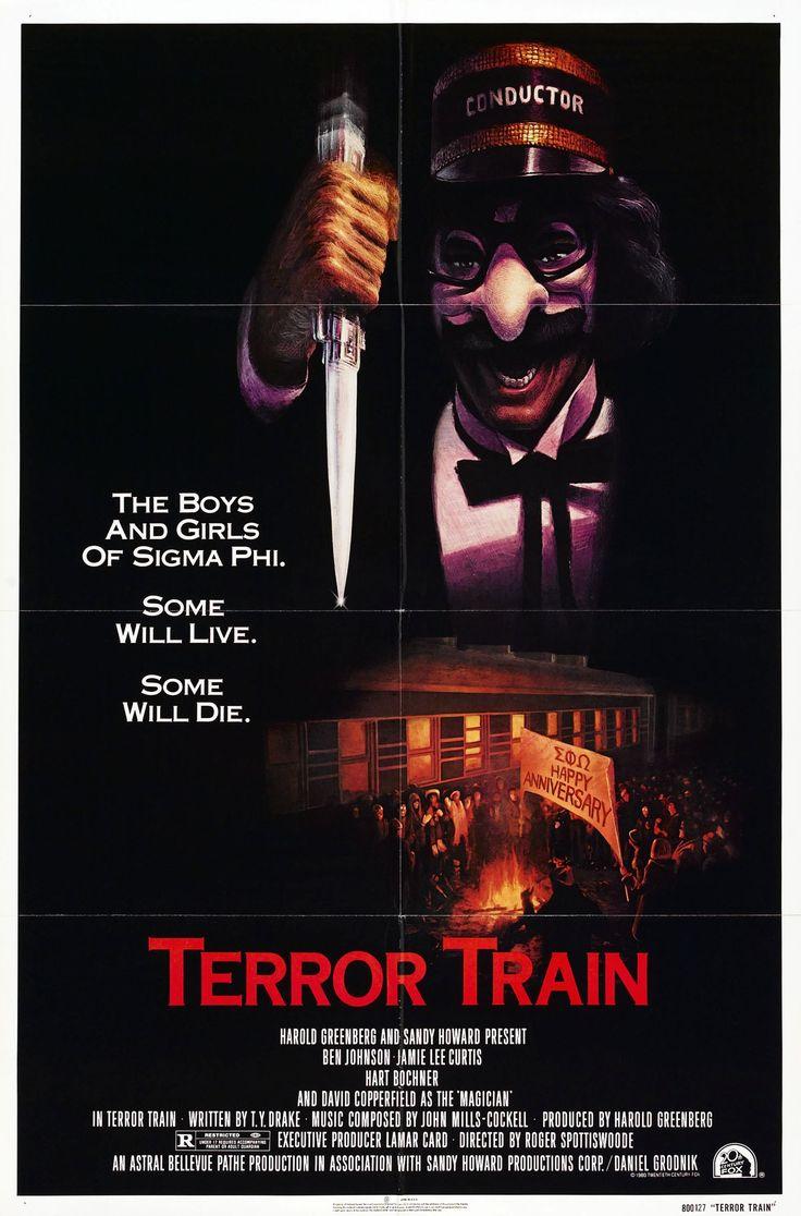 Terror Train movie poster (1980)
