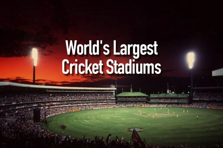 India is not just number one cricket market in the world, but in cricket infrastructure too.As Seven of World's 10 highest-capacity stadiums are in India
