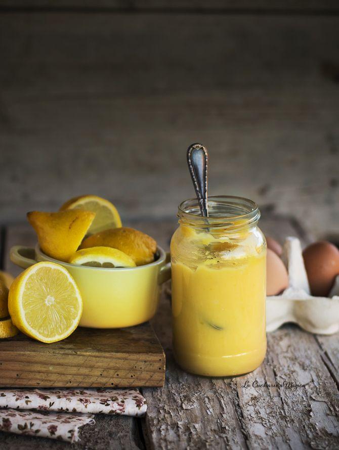 Cómo hacer crema inglesa de limón o Lemon Curd
