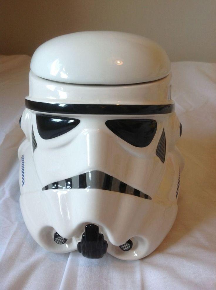 1000 images about star wars cookie jars on pinterest - Stormtrooper cookie jar ...