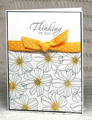 Sincere Salutations and Fifth Avenue Floral--two of my favorites on the retiring list--available now through May 31st