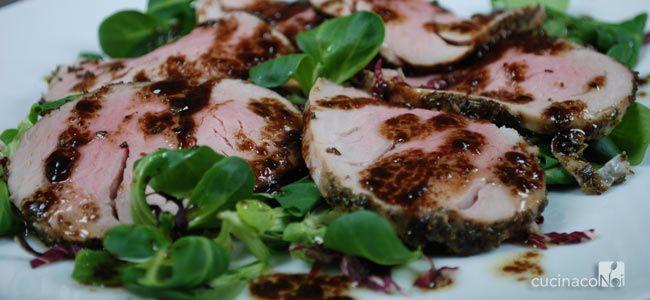 Filetto di maiale all'aceto balsamico - CucinacoNoi - Enogastronomia e Stile