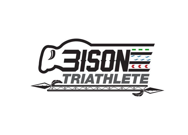 Bison Triathlete team logo for triathlon and ru... Bold, Masculine Logo Design by creative.bugs