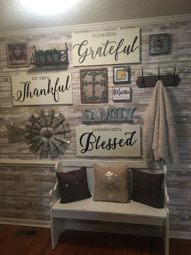 Small Dining Room Decor Wall