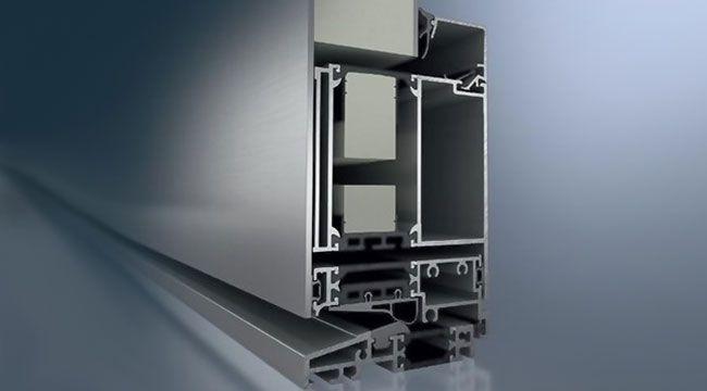 ADS90 insulated aluminium doors