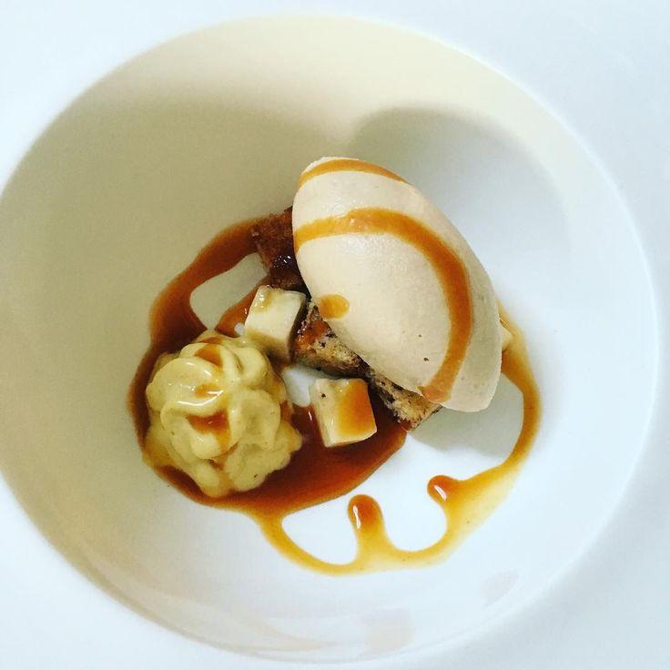 of banana, beer ice cream and warm caramel sauce.) | Sweet&sour ...