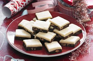 Two-Layer Cookie Crunch Fudge recipe