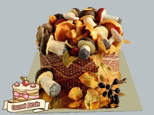 """торт """"Лесной урожай""""  Вес 3,6 кг"""