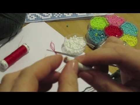 Perlen Stricken - YouTube