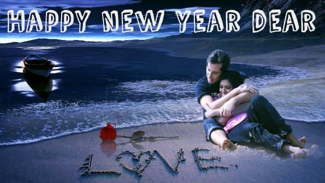Happy New Year Wallpaper for Love 2019 Free Download