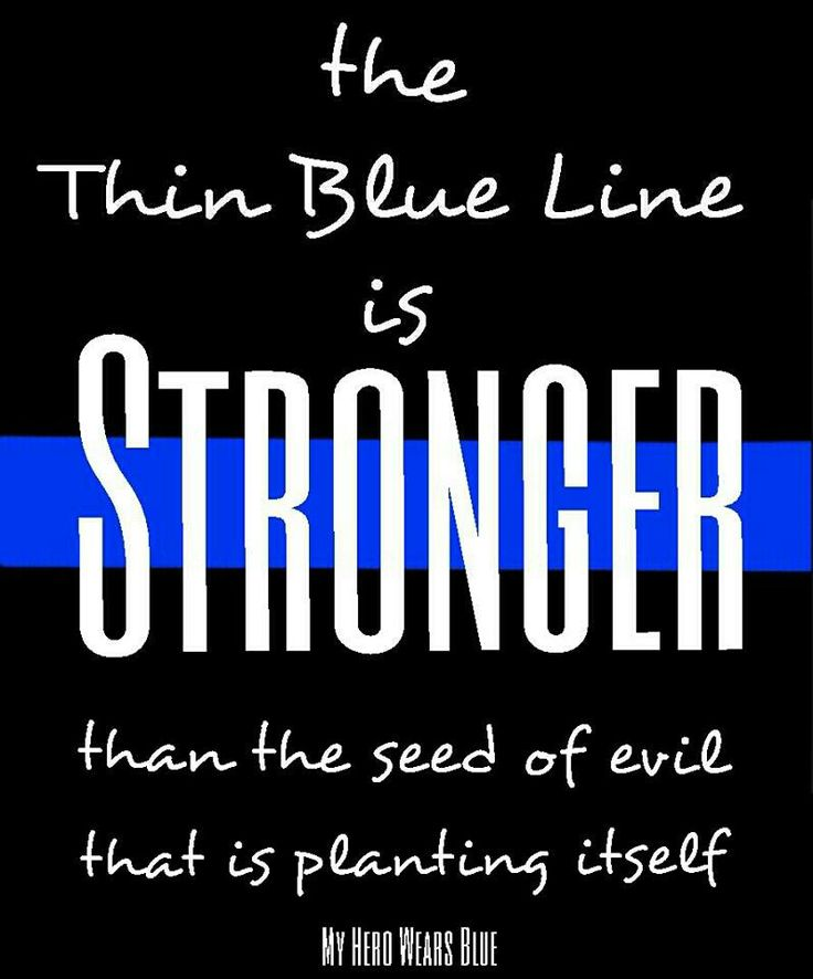 Police Law Enforcement The Thin Blue Line