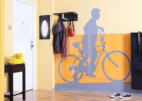 Хранение велосипедов в квартире - Home and Garden