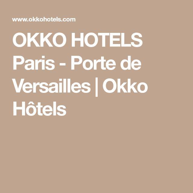 OKKO HOTELS Paris - Porte de Versailles   Okko Hôtels