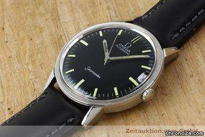 Omega Seamaster Herrenuhr Automatik Edelstahl Vintage Von 1966