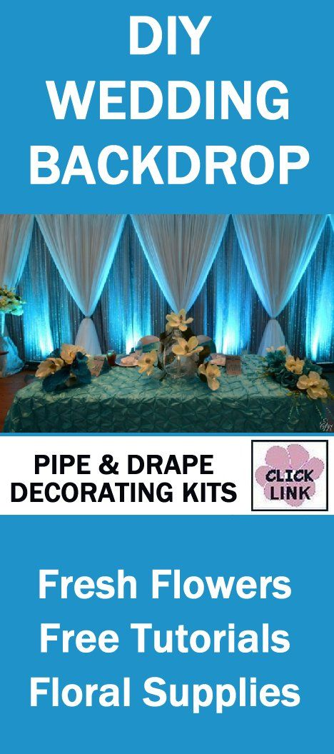 pinterest draping decorating kits drapes diy supplies drape for best pipe on wedding backdrop images panels inspiration and rentmywedding weddings