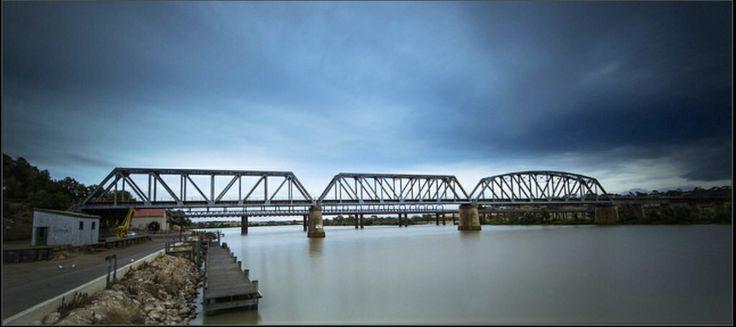 Murray River Bridge Murray Bridge   Australia