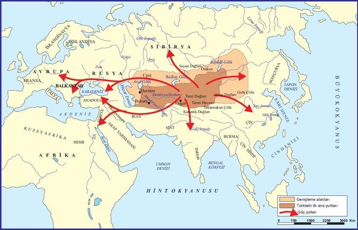 De genetische geschiedenis van de Turken en de genetische structuur van Centraal-Azië