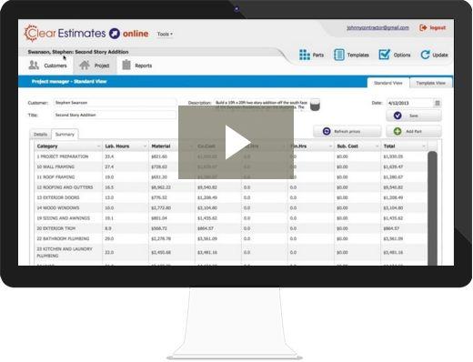 Clear Estimates | Construction Estimating Software