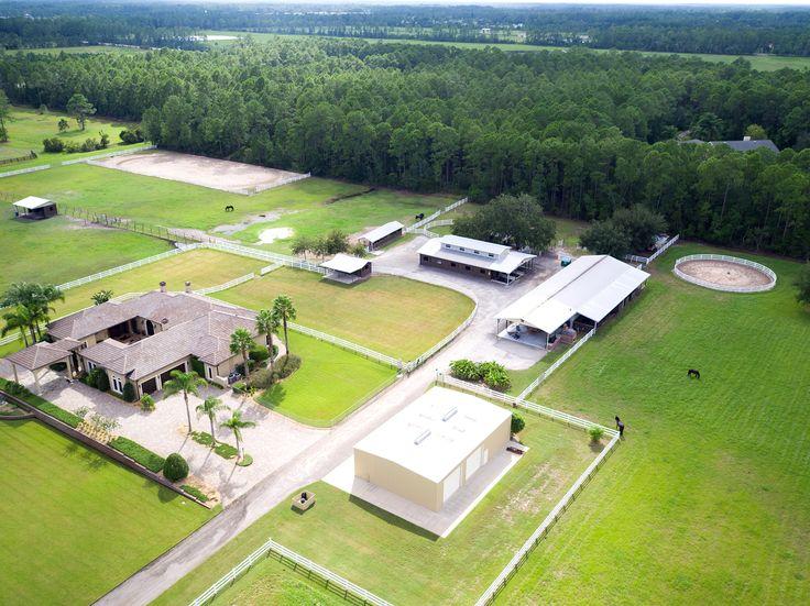 Private Florida equestrian estate in New Smyrna Beach