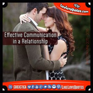 Effective Communication in a Relationship