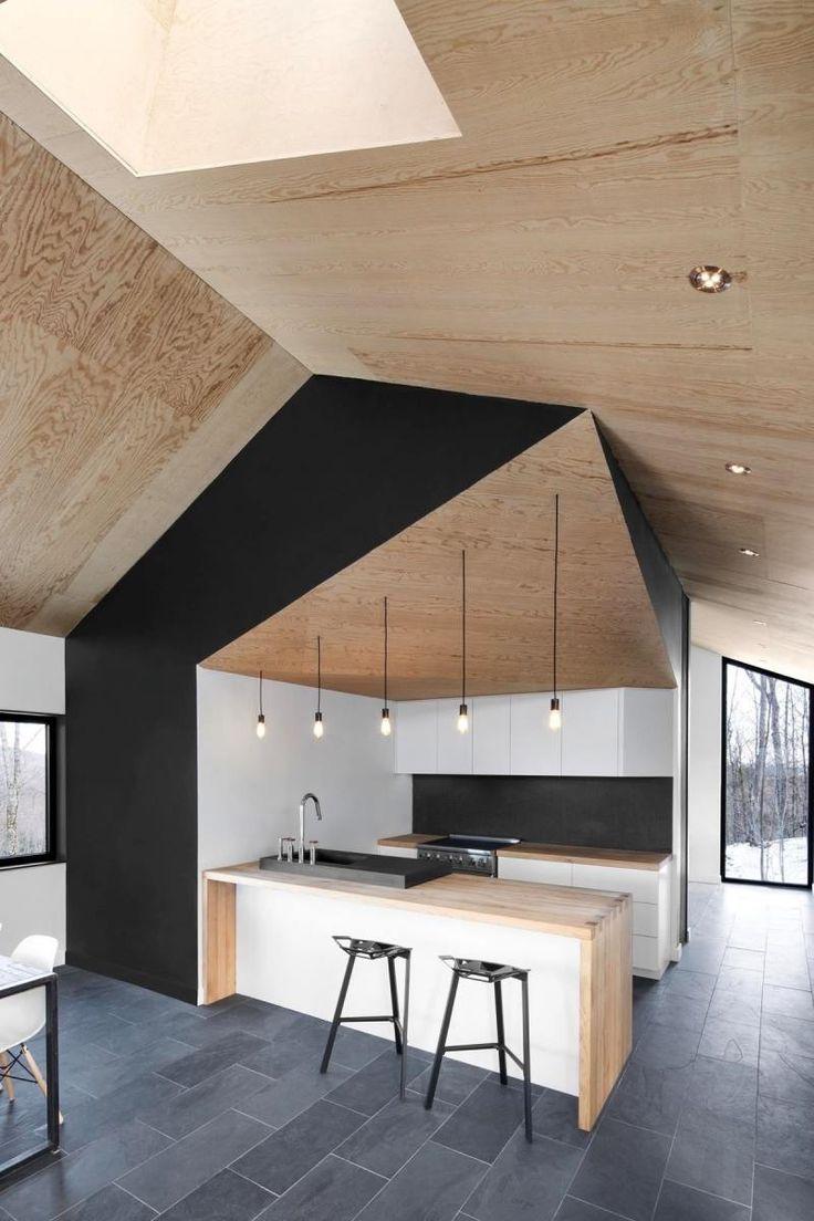 1000 idées sur le thème cuisine noire et bois sur pinterest ...
