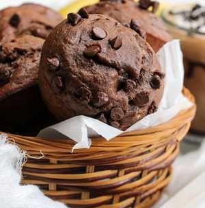 Liszt- és cukormentes ez a mennyei csokis-banános muffin