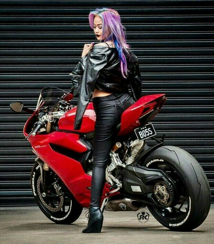 Ducati Or The Woman Eeerrrmmm Sorry Duck Even With The High Service Costs The Duke Is Alot Less To Maintain And I Cafe Racer Girl Biker Girl Motorcycle Women