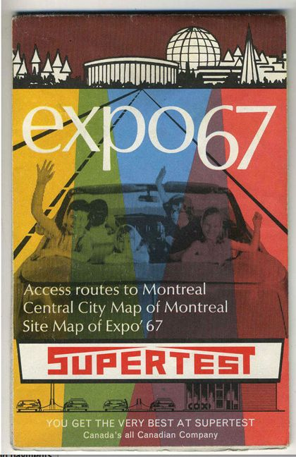 Expo 67 brochure #Montreal, Canada #Expo2015 #ExpoStory
