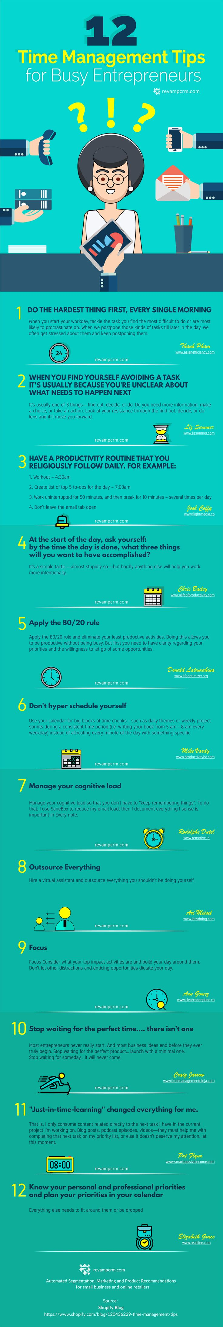 Some of the most incredible time management tips for entrepreneurs that will keep you organized and effective.