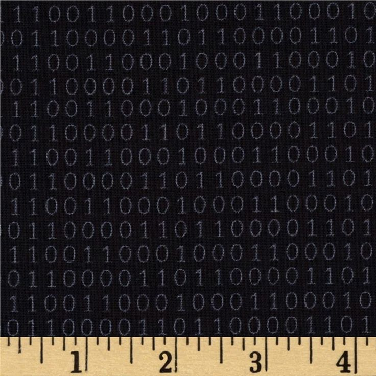 Text Me Binary Code Black from @fabricdotcom  Designed by My KT for Windham Fabrics, this fabric is perfect for quilting, apparel and home decor accents. Colors include black and white.