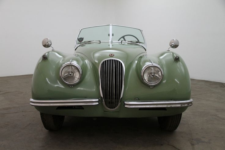 1954 Jaguar XK120 Roadster with matching numbers, willow