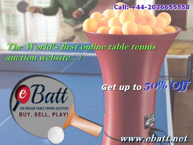 Proud to buy your accessories at the World's first online shop for Tablet Tennis. Start your purchase on Ebatt soon to avail offers. Grab your orders up to 50% discount. Call +442036655558. Purchase @ http://www.ebatt.net
