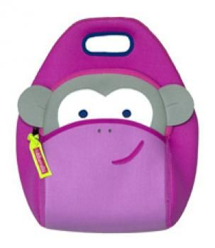 Finlee and Me - Blushing Monkey Lunch Bag available now to buy in Brisbane, Queensland, Australia
