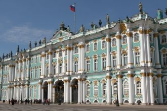"""The Hermitage complex consists of a total of five separate buildings, all connected to each other along the panoramic River Neva embankment. The buildings are the Winter Palace, the Small Hermitage, the Old Hermitage (also called the Large Hermitage), the New Hermitage and the Hermitage Theater. To learn more about them and the secret of the name """"Hermitage"""" see our article """"The Exciting Journey of the State Hermitage""""."""