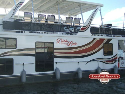 Unique Boat Name Decals Ideas On Pinterest Stickers For Yeti - Modern custom houseboat graphics
