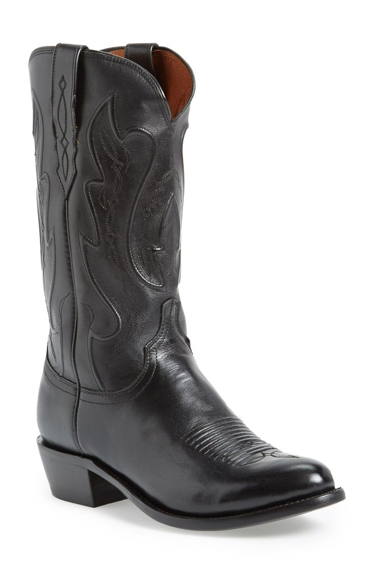 Lucchese 'Ranch Hand' Cowboy Boot (Men)  Not necessarily these boots but some nice Texas boots for AL