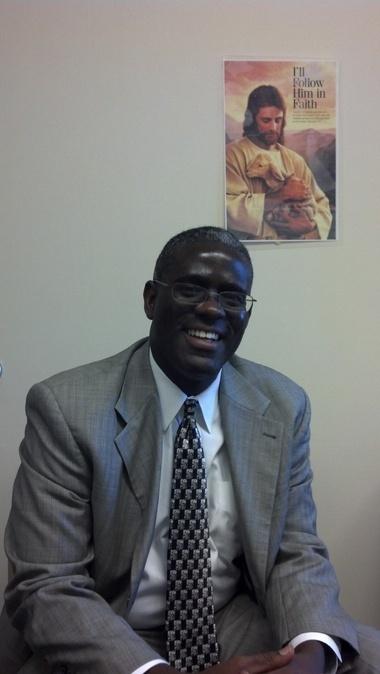 Alabama's first black Mormon stake president Peter M. Johnson