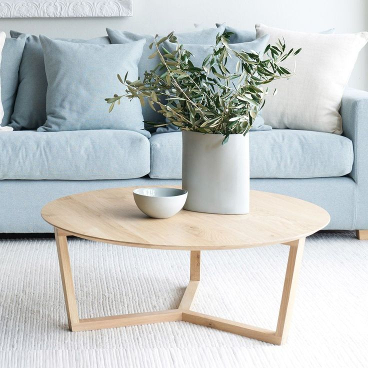 Best Oak Coffee Table Tripod In 2020 Circular Coffee Table 400 x 300